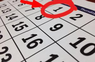 Mietfälligkeit zum Monatsersten: geht das?
