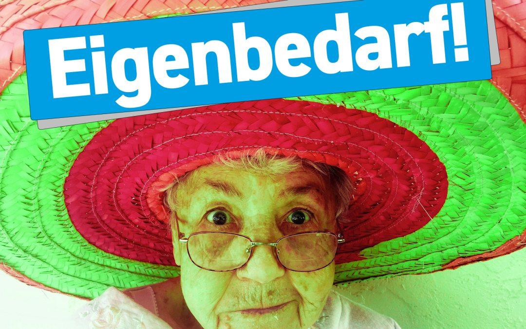 BGH: Hohes Alter einer 90-jährigen Mieterin schließt Eigenbedarf für Gelegenheitswohnung nicht aus